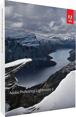 Adobe Photoshop Lightroom 6 | Win & Mac | 1 Nutzer | Digital | Vollversion