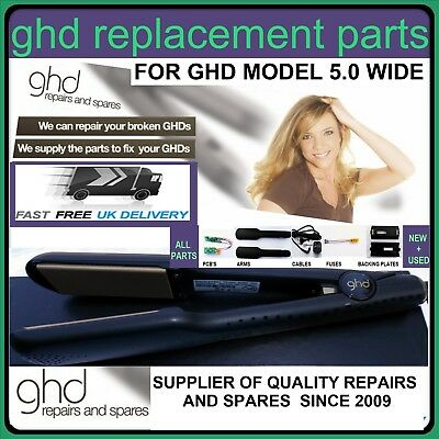GHD HAIR STRAIGHTENER Repair Genuine/Compatible Parts For GHD SS 5.0 Gold Wide