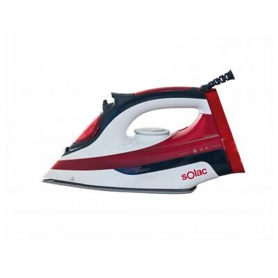 Steam Iron Solac PV2214 OPTIMA PERFECT 2600W 0,38 L Black Red