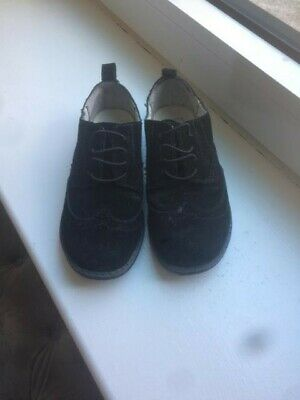 Baby Gap Toddler Boys' Black Wingtip Oxford Dress Shoes Size 11