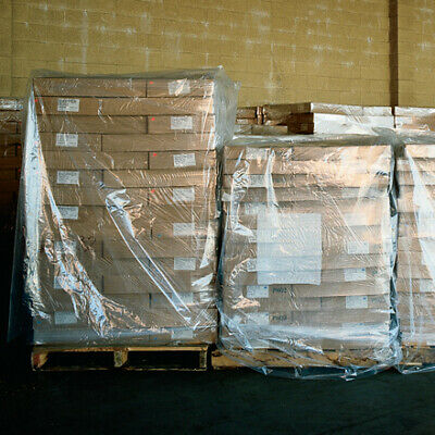 industrial supplies 2 Mil Clear protect products from moisture Pallet Covers USA