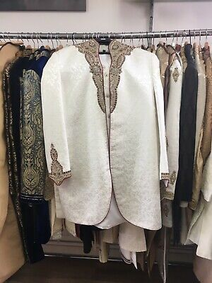 Used Mens Wedding Sherwani | Size: 40 | No Reserve