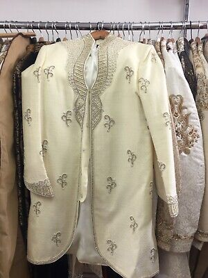 Used Mens Wedding Sherwani | Size: 38 | No Reserve