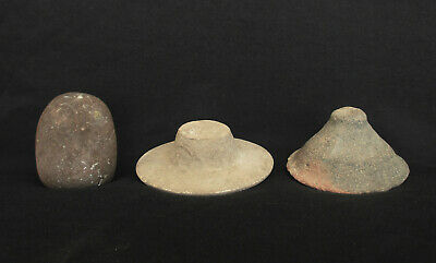 Islamic Antiques - Two Lids & One Stopper for Closing and Sealing Large Oil Jugs