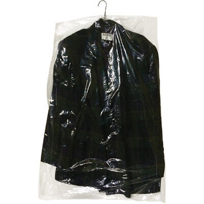 Office industrial supplies durable 0.6 Mil Clear Garment Bags
