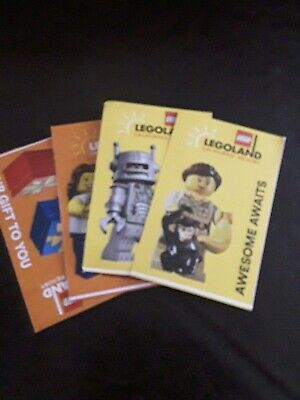 4 One Day Legoland California tickets Sea Life VALID ONLY 9/3-11/22 of 2019