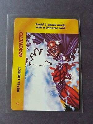 1995 Fleer Marvel OverPower Magneto Repel Object Card Uncommon