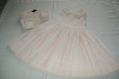 Baby girls clothes vintage Ralph Lauren dress 12m - combined postage available