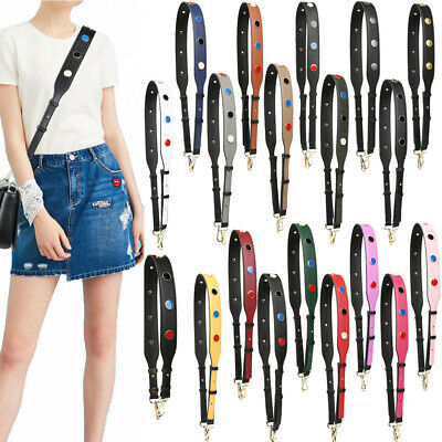 Wide Purse Strap Replacement Guitar Style Multicolor Crossbody Belts for Handbag