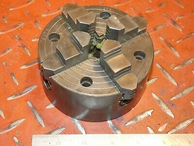 """4 1/2""""   4 Jaw Lathe Chuck Compatible Myford Ml7 Super 7 Engineering"""