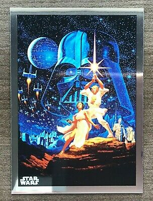 2019 Topps Star Wars Chrome Legacy Poster Card Insert ~ Pick your Card