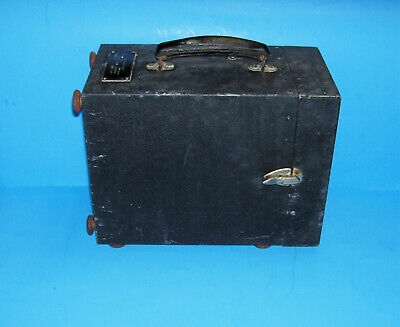 Vintage 1944 Wwii Ww2 U S Army Signal Corps Frequency Meter (Metal Case Only)