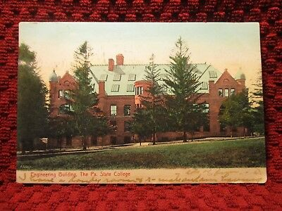 1907. Engineering Bldg. The Pa. State College. Postcard L10