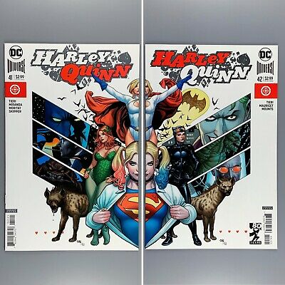 Harley Quinn #41 42 Frank Cho Connecting Cover Variants NM