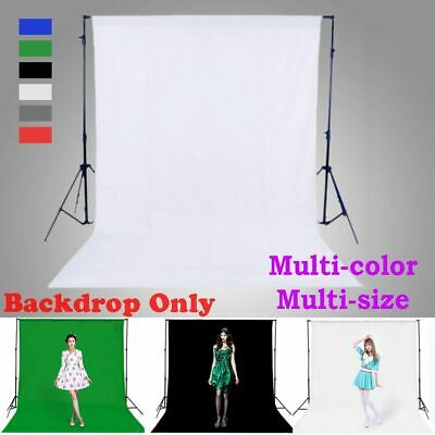 Green Studio Chromakey Screen Photography Cotton Backdrop Photo Background