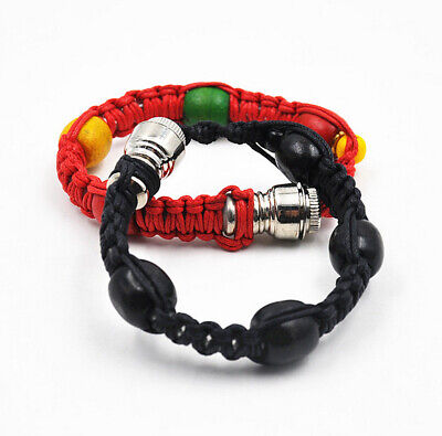 Portable Metal Bracelet Smoking Pipe Jamaica Rasta Smoke Cigarette Pipes 1pcs