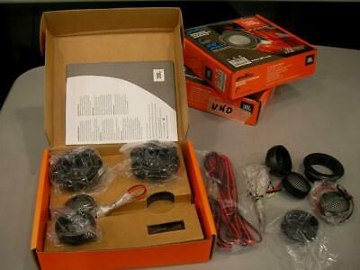 JBL GTO16TE Tweeter Pair x Car + Several Accessories and Bolts New
