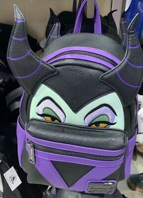 NEW Disney Parks Loungefly Maleficent Backpack