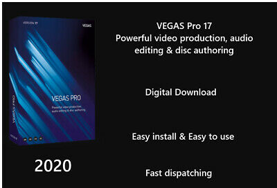 VEGAS Pro 17 Powerful video production, audio editing & disc authoring -Download