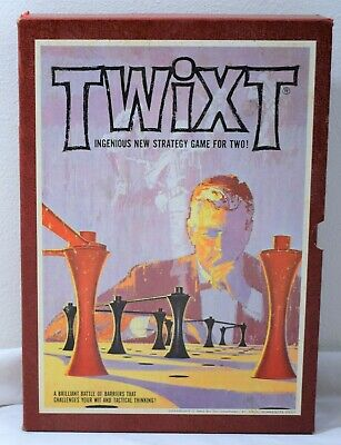 TWIXT Vintage 3M-Brand Bookshelf Game ©1962 Complete Tactical Thinking Strategy