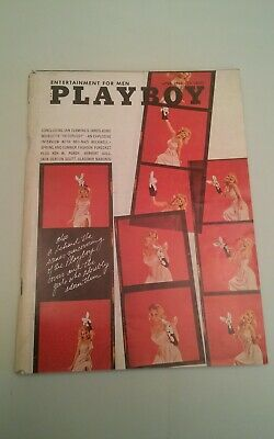 001B Vintage Abril 1966 Playboy Revista