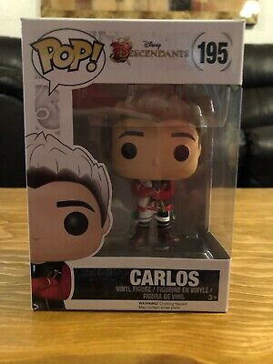 Funko Pop! Disney Descendants Carlos #195 Vaulted