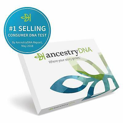 Ancestrydna Genetic Testing DNA Ancestry Test Kit ~ NEW ~ SEALED ~ 2019