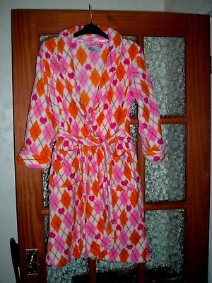 Girls Age 6 - 8 Years Dressing Gown.