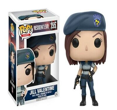 FUNKO POP NEW Resident Evil 10cm JILL VALENTINE Action Figure 155#