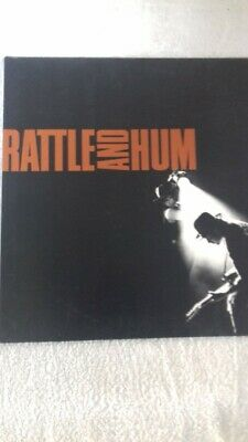 "U2 - Rattle And Hum 2x12"" Vinyl LP Record Album  Gatefold - 1988"
