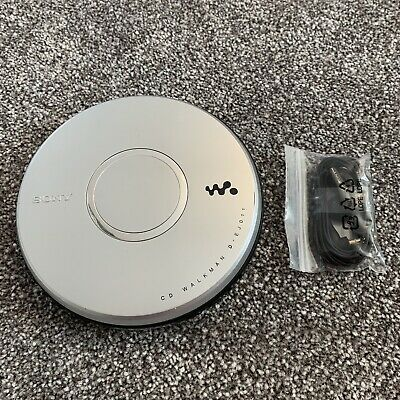 Sony D-EJ011 CD Walkman Discman Personal Stereo G-Protection / New Headphones