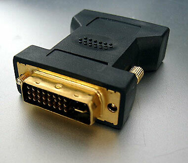 DVI VGA Converter Video Graphics Adaptor PC and Laptop