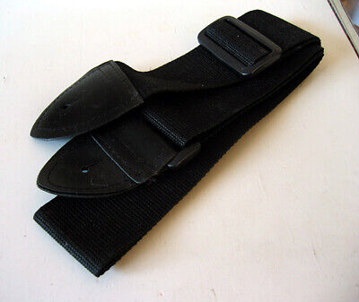 New Black Guitar Strap Adjustable