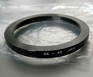 HOYA 55-46 Camera Lens Converter Step Ring Japan