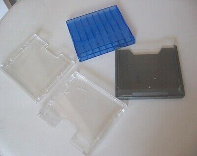 4x assorted MiniDisc MD Recordable Mini Disc cases only