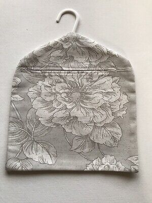 Vintage Retro Peg Bag Made With Lovely Floral Fabric From Dunelm