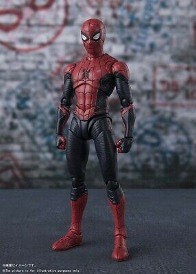 BANDAI S.H.Figuarts Spider-Man UPGRADED SUIT (Spider-Man Far From Home)  figure