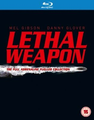 The Complete Lethal Weapon Collection REGION FREE BLU RAY *NEW SEALED*