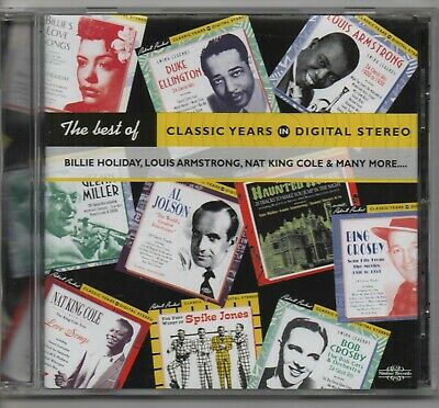 THE BEST OF CLASSIC YEARS IN DIGITAL STEREO various 2001 UK NIMBUS CD w/BOOKLET