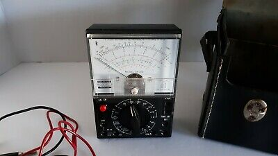 Vintage Sperry Multi Tester With Leads & Case #Sp-250 Untested!  Picker Find!