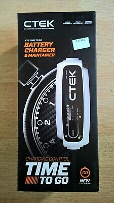 Ctek Ct5 Time To Go Battery Charger And Maintainer