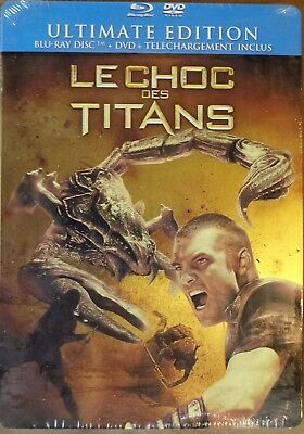 Le choc des Titans ultimate édition steelbook Blu-ray + dvd neuf sous blister