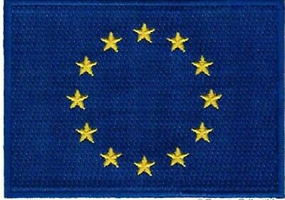 Europe Union Flag Embroidered Iron On Sew On PatchBadge For Clothes etc