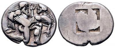 Islands off Thrace, Thasos AR Stater. 500-480 BC