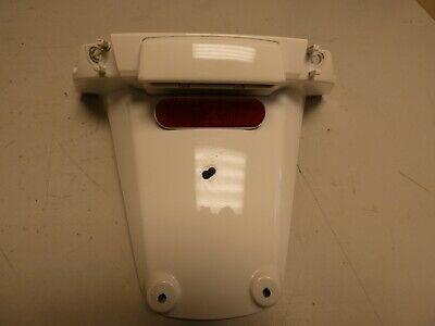 2011 Piaggio Vespa 125 S Rear mudguard/numberplate lamp unit . White 9054klms