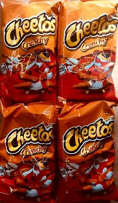 FOUR Large Bags Of 8oz Crunchy Cheese Cheetos American Import Bags UK Seller