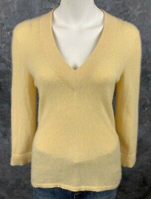 JUST CASHMERE BY Forte Womens Pullover Sweater Size L Brown
