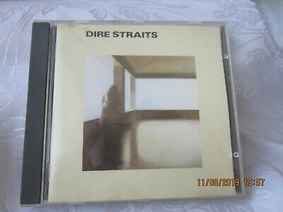 DIRE STRAITS self titled debut CD ORIGINAL 1978 French Red Swirl