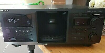 SONY CDP-CX450 400 CD Player Changer Mega Storage TABLE