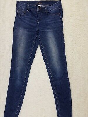 Justice Simply Low Blue Leggings Girls Size 14 Slim